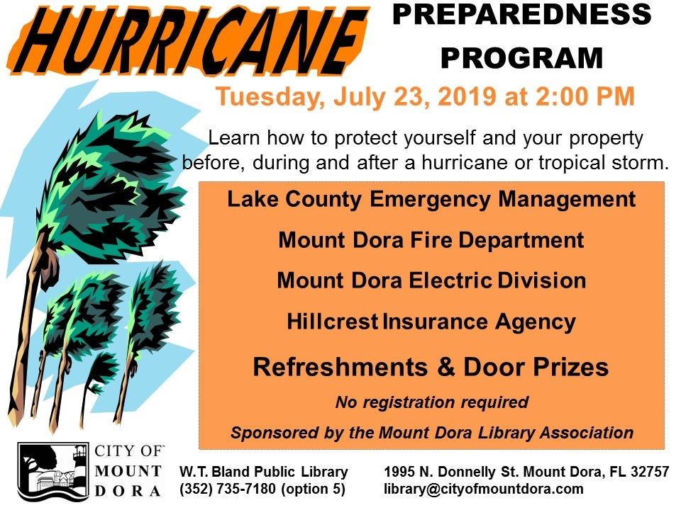 Hurricane Program 2019