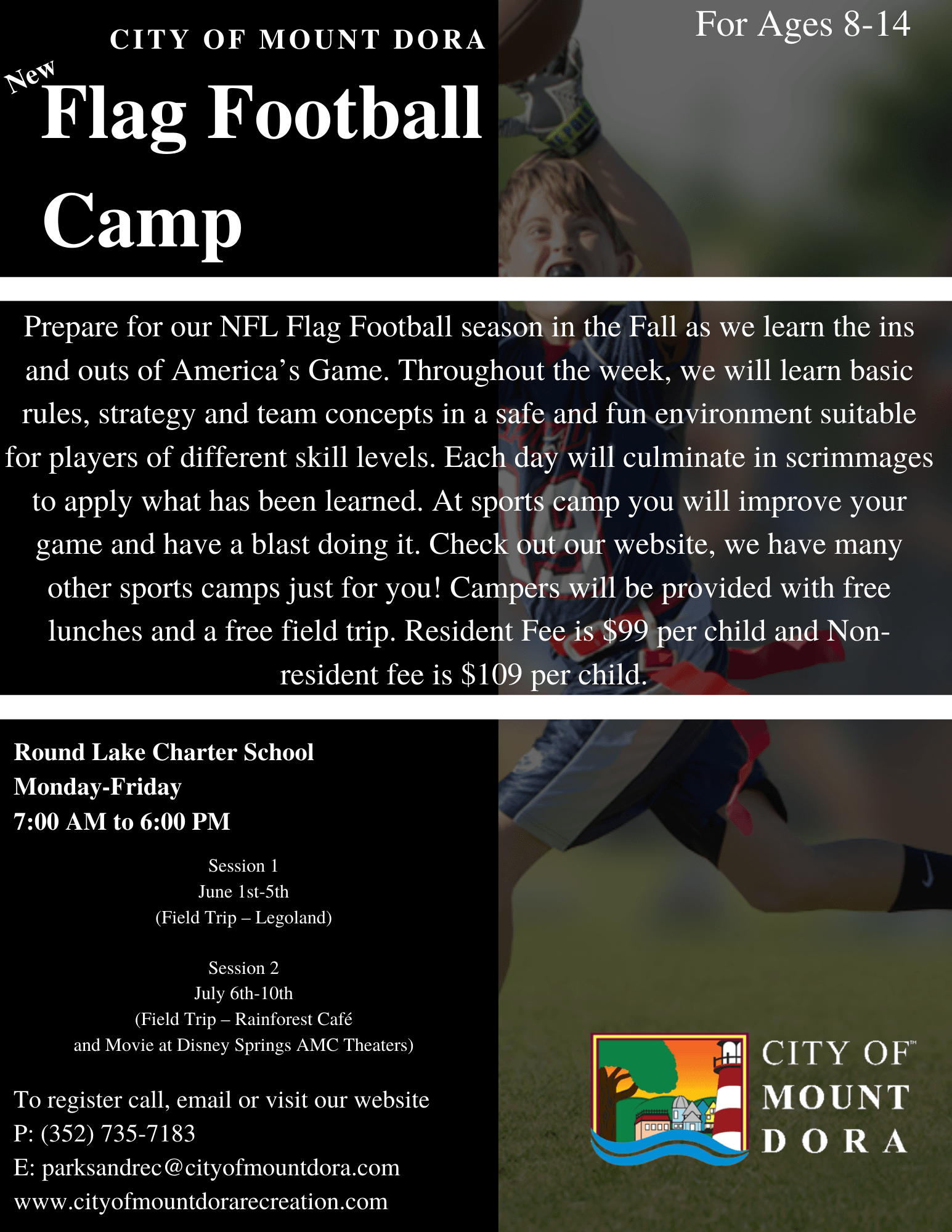 Flag Football Camp 2020