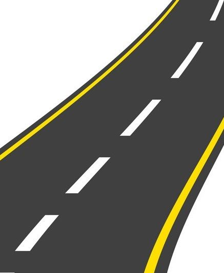 roadway-landscape-isolated-icon-vector-10256783