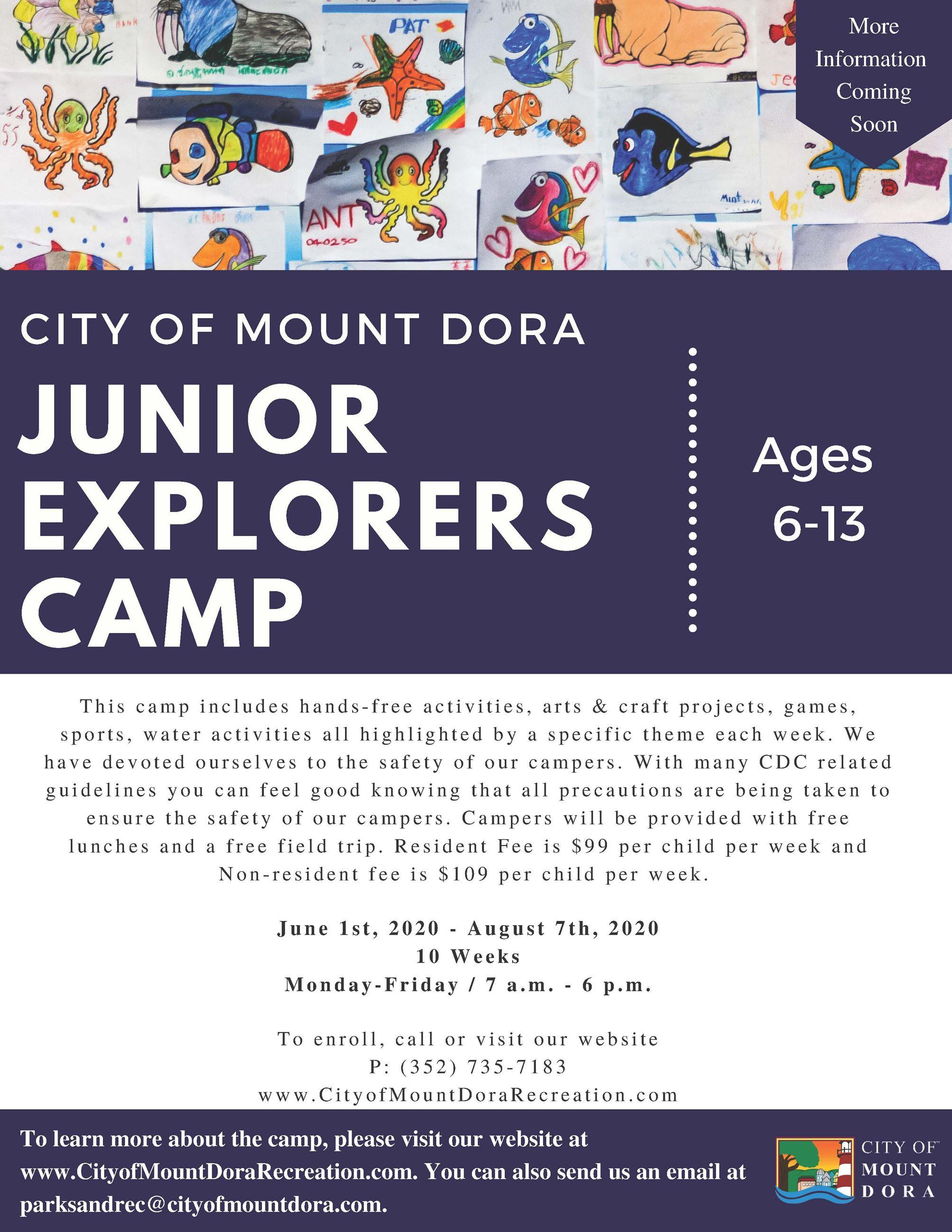 Junior Explorers Camp- Covid update- Final (1)