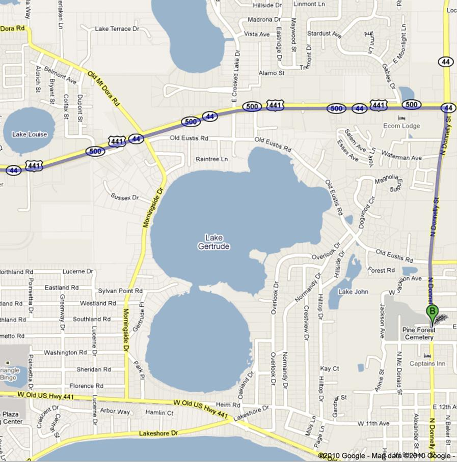 Lake Dora Florida Map.Location Directions Mount Dora Fl Official Website