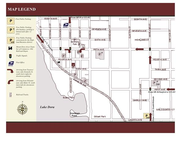 Lake Dora Florida Map.Experience Downtown Mount Dora Mount Dora Fl Official Website