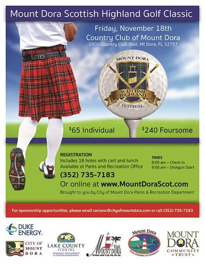 Mount Dora Scottish Highland Golf Classic