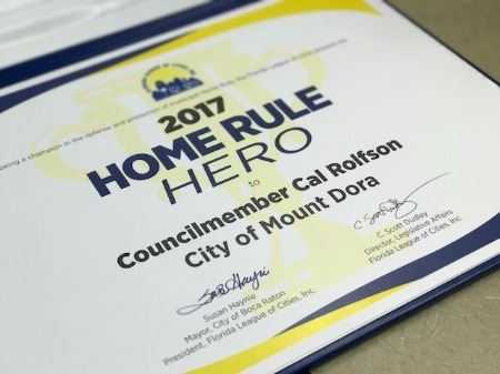 Home Rule Hero Certificate