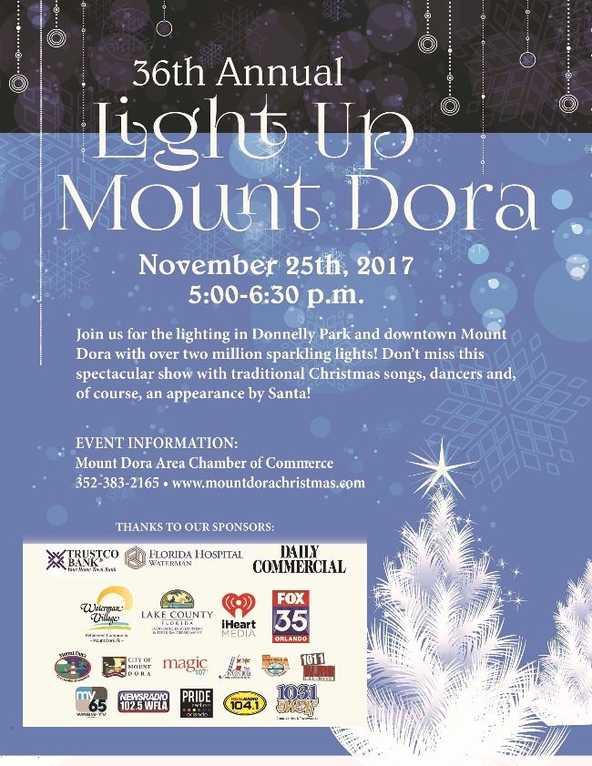 Light up mount dora