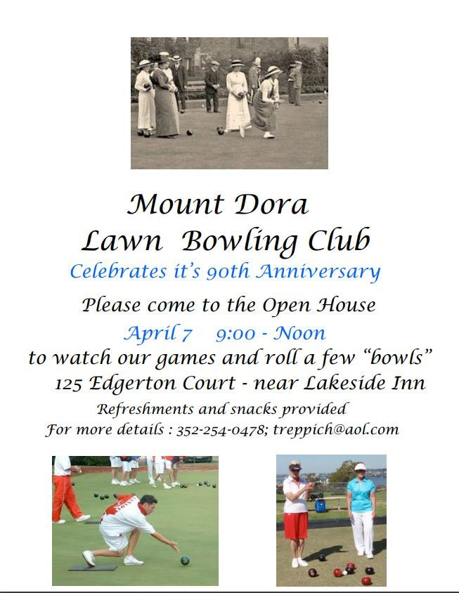 lawn bowling 90th anny