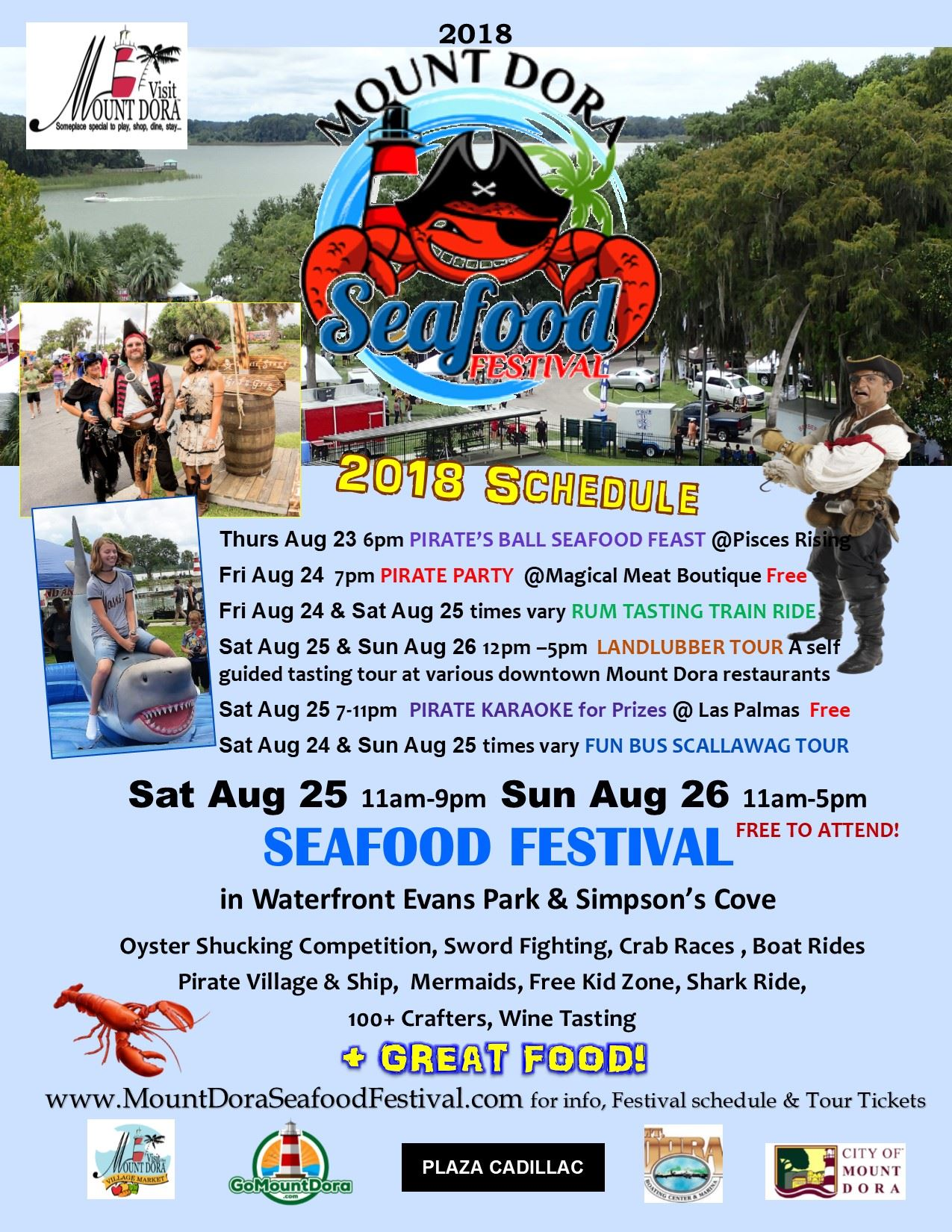 Seafood Festival Poster 2018