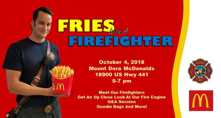 fries with firefighter