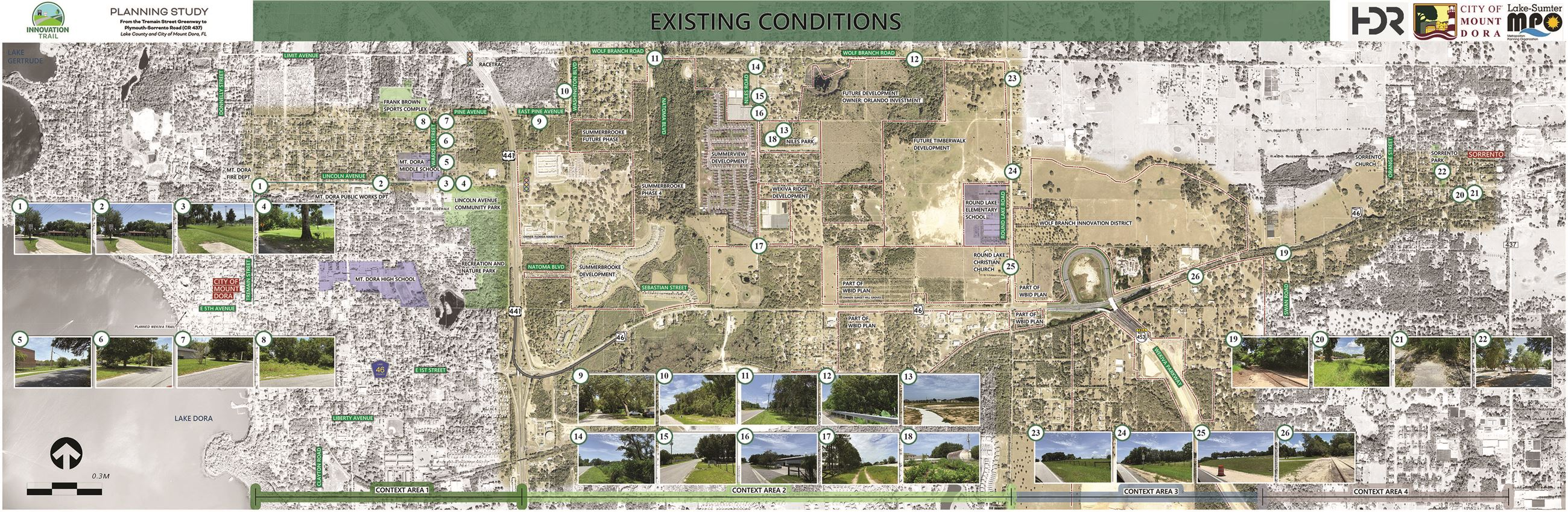 Innovation Trail Existing Conditions Map