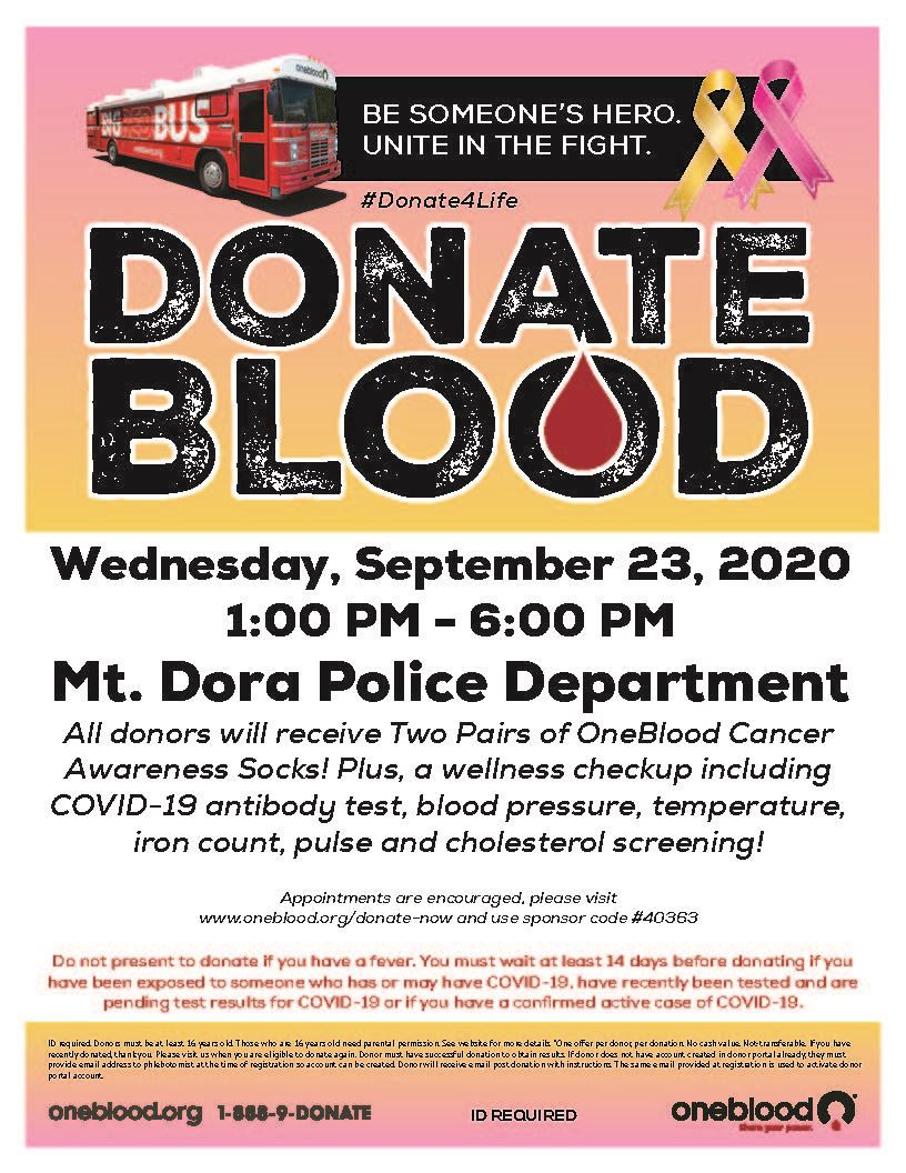 MDPD Blood Drive