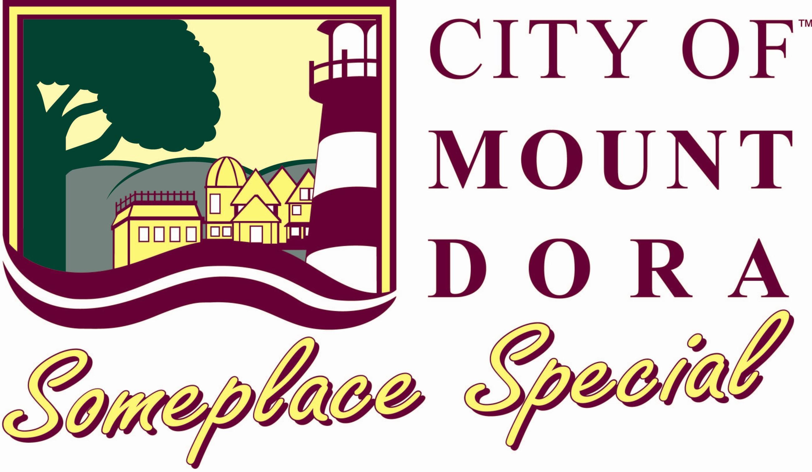 Mount Dora Logo with Tagline
