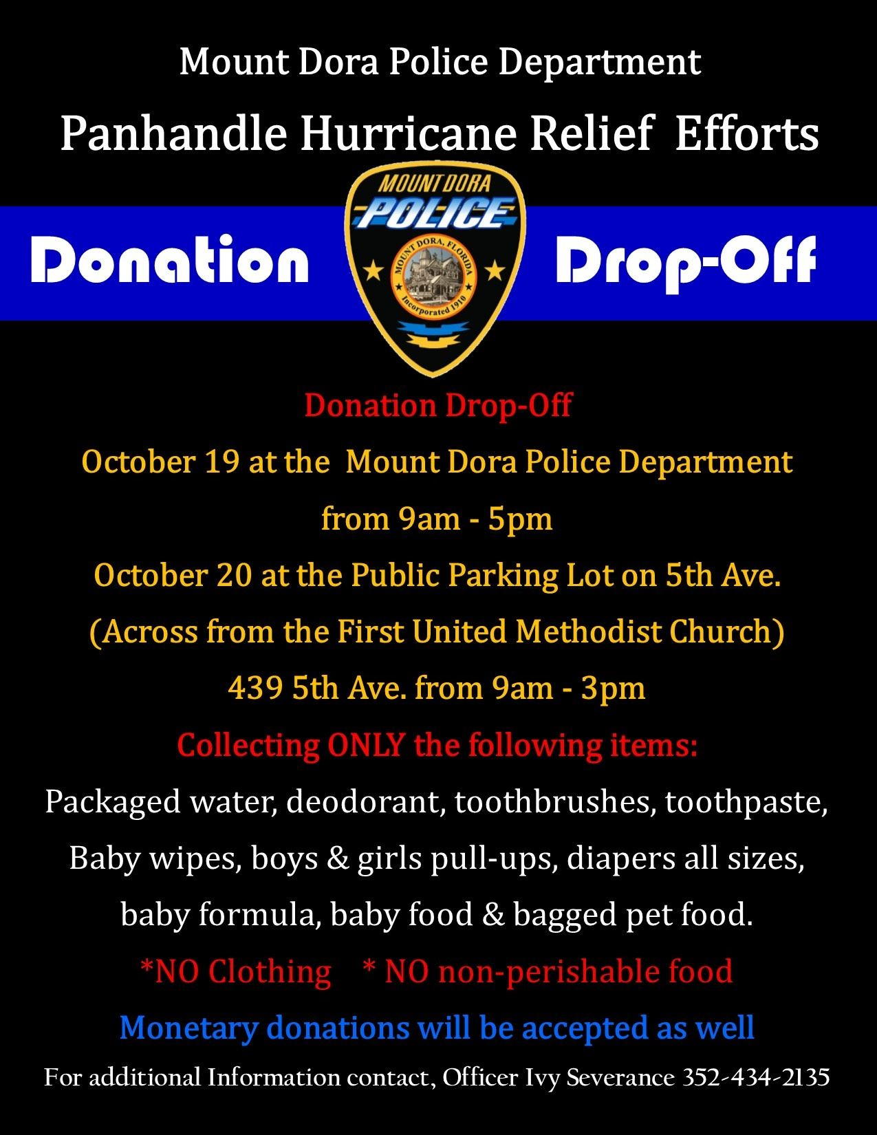 Panhandle Relief Efforts