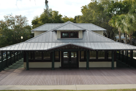 Donnelly Park Building and Deck