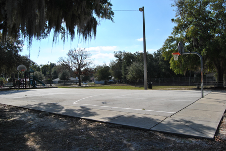 Cauley Lott Park Basketball Court