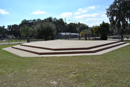 Cauley Lott Park Stage