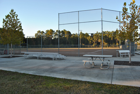 Frank Brown Baseball Field with Bleachers