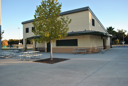 Frank Brown Sports Complex Concession Stand
