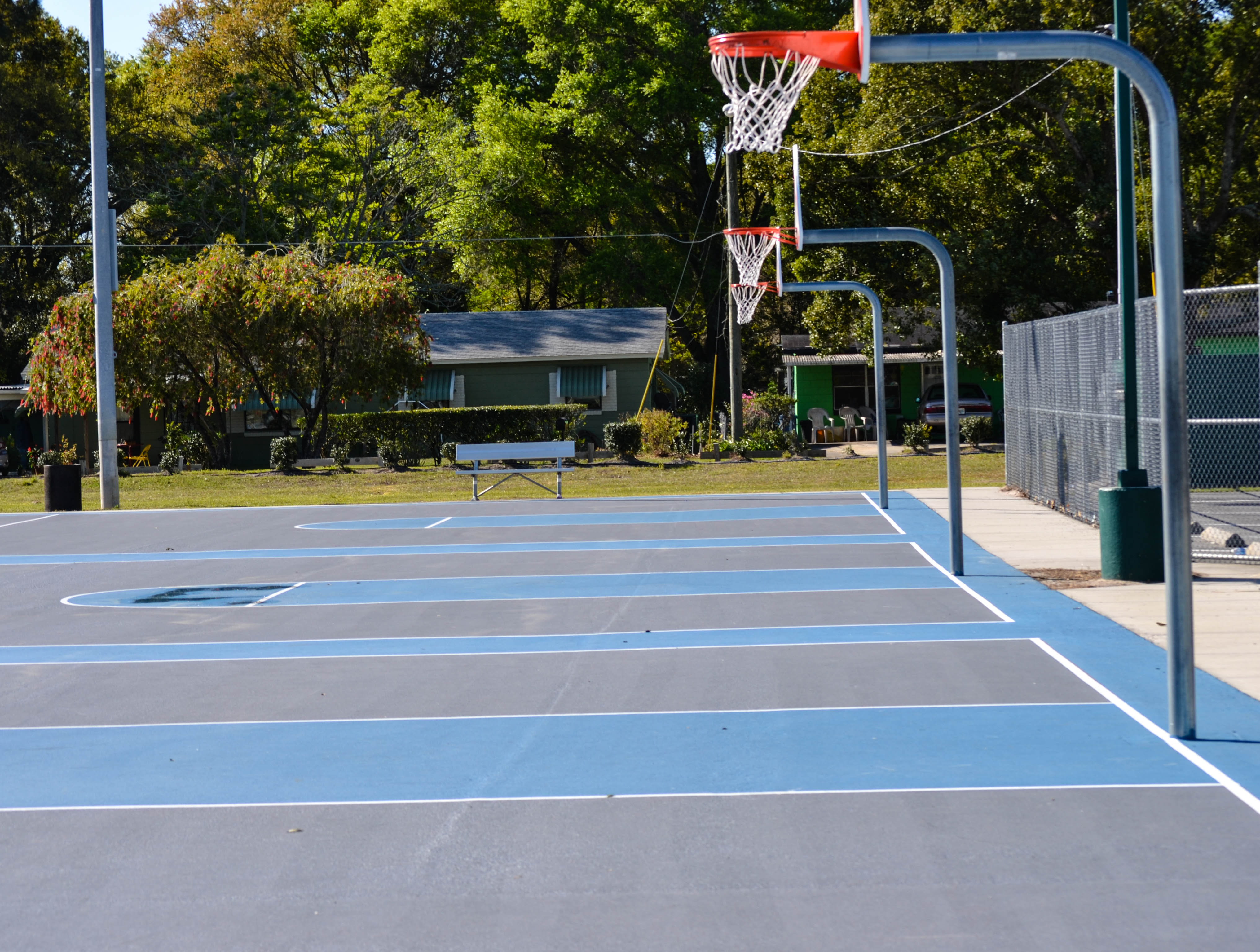Frank Brown Sports Complex Basketball Courts