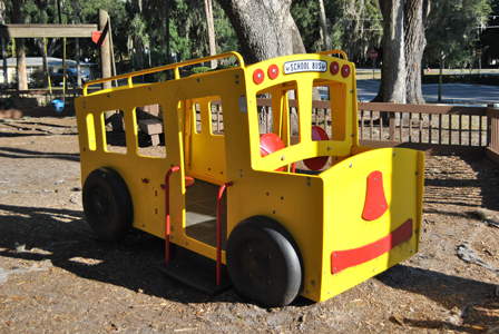 Gilbert Park Playground Bus