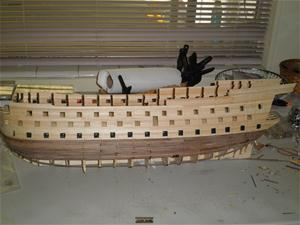 Victory Ship Model