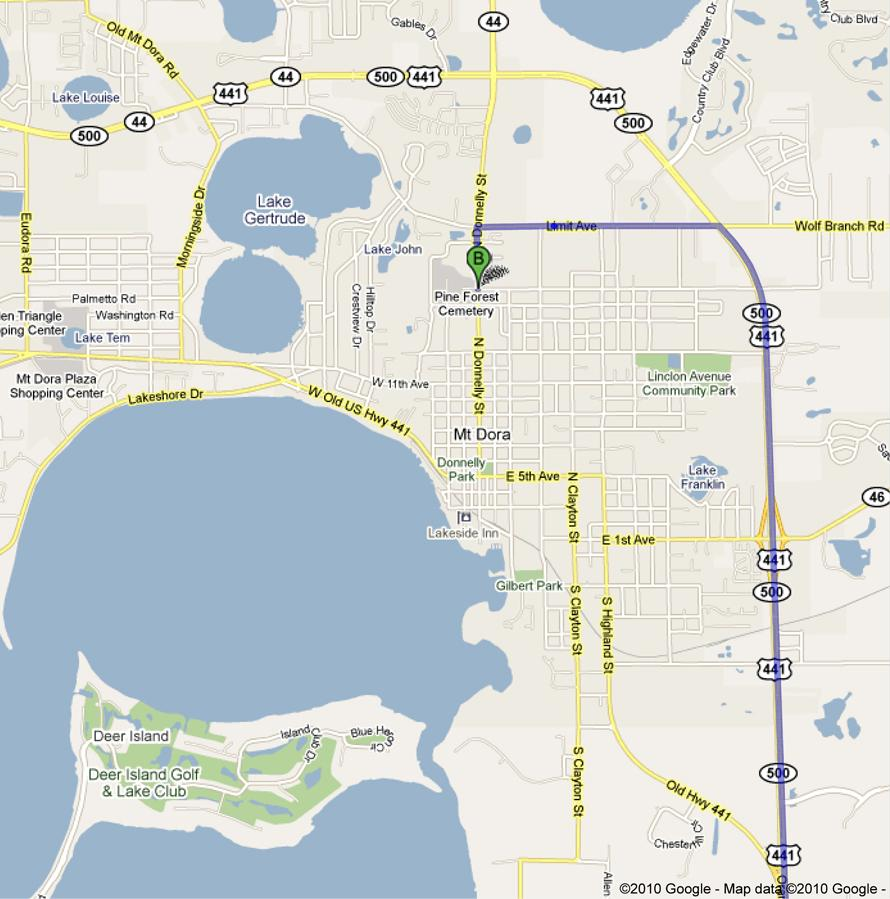 Mount Dora FL  Official Website  Location Amp Directions